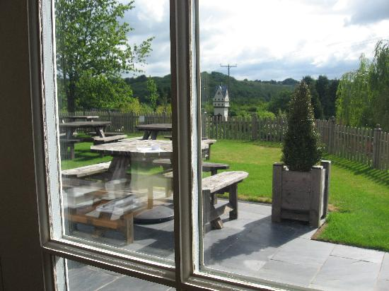 High Wycombe, UK: View from the restaurant