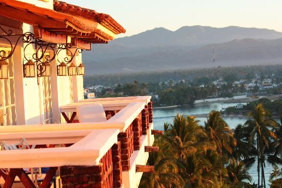 Grand Isla Navidad Resort: Blick vom Zimmer