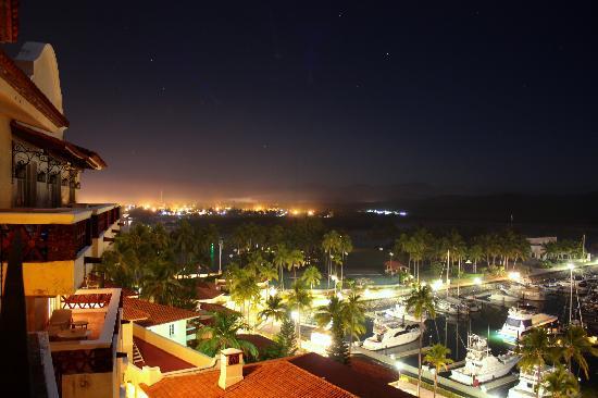 Grand Isla Navidad Resort: Blick vom Balkon