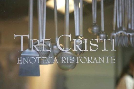 Tre Cristi Enoteca Ristorante: Cucina