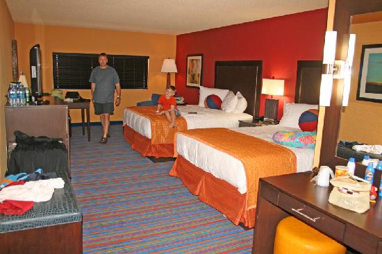 "Coco Key Hotel and Water Park Resort: Our room in ""the tower."""