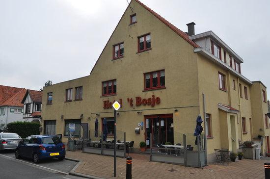De Haan, Belgique : hotel entrence