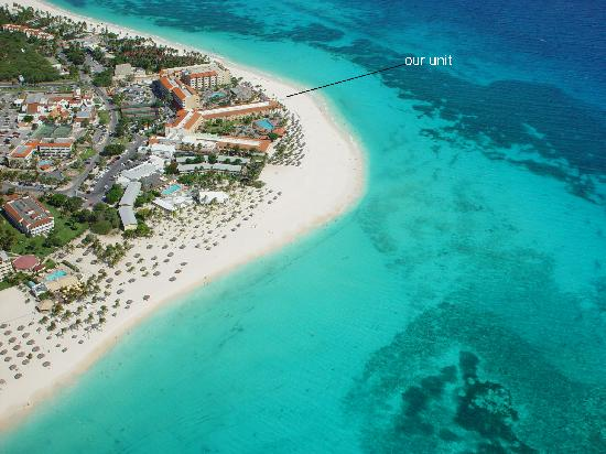 Aruba Beach Club: Wonderful Location