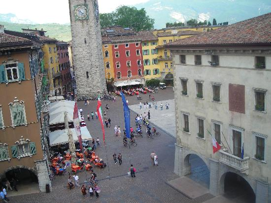 Hotel Portici: View from Hotel room