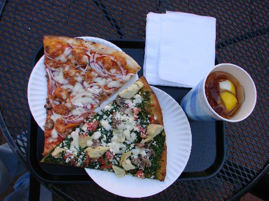 Christian's Pizza: Christian's Pizza Charlottesville Downtown Mall