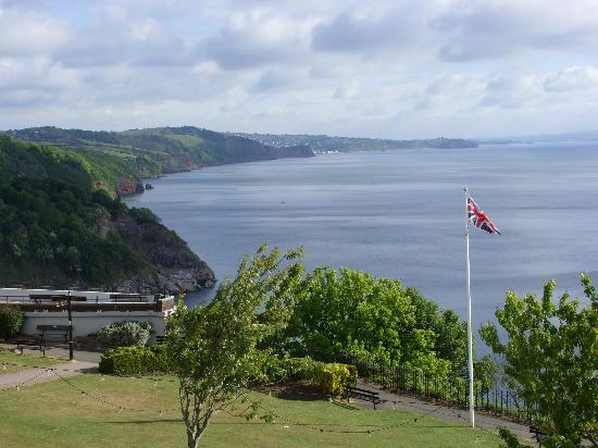 The Downs, Babbacombe: our beautiful view