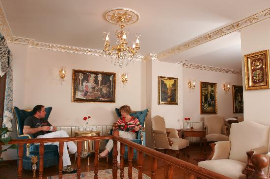 All Day Istanbul Hotel : Lobby