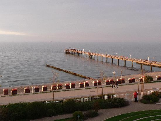 Travel Charme Ostseehotel Kuhlungsborn / Baltic Sea: Blick vom Balkon