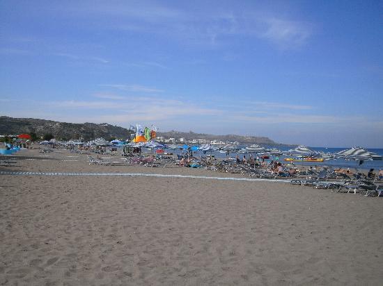 Faliraki beach - Picture of Sun Palace Hotel, Faliraki - TripAdvisor