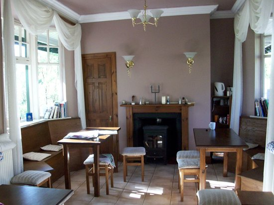 The West Highland Way Sleeper: the dining area