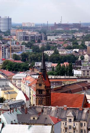 Ostrava, República Checa: City panorama