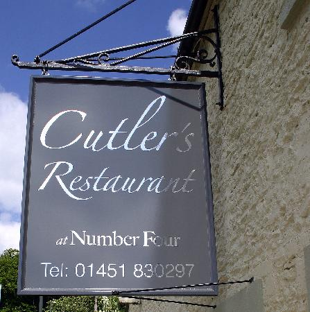 Number Four at Stow Hotel & Restaurant: Cutlers Restaurant