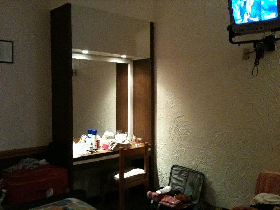 Hotel Gillow: tocador de la habitación
