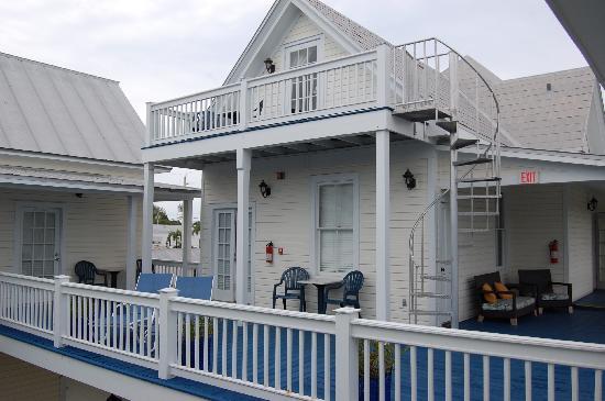 Azul Key West: VIsta camere primo piano...