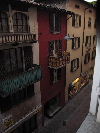 Lugano Dante Center Swiss Quality Hotel: The darling view from our room