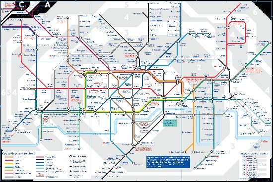 Underground London Map Picture of London Underground London – Map Underground London