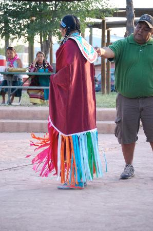 Cortez Cultural Center: Dad, drummer and singer, informs the audience