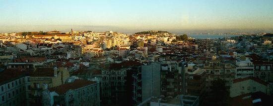SANA Lisboa Hotel: vista dall'hotel