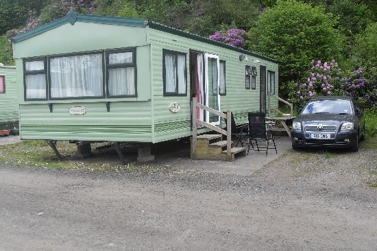 Balquhidder Braes Scottish Holiday Park: A luxury caravan that we have stayed at.