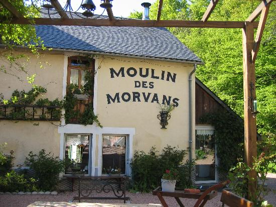 Moulin des Morvans : Le moulin