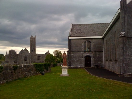 View of the Quinn Friary from The Abbey Tavern