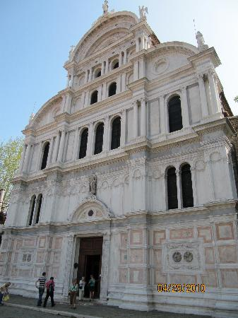 San Zaccaria Church opposite Hotel Villa Igea