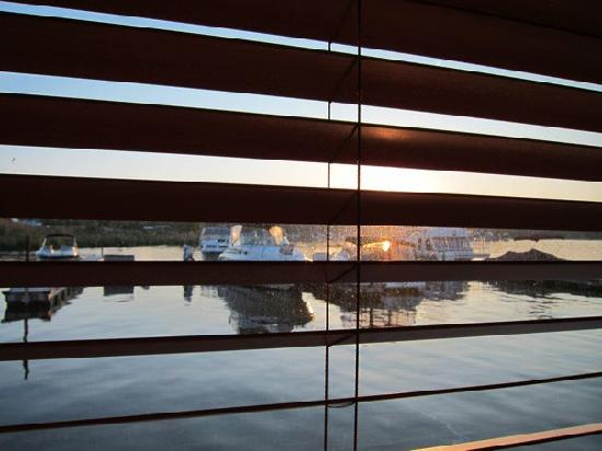 Sea Suites Boat & Breakfast: view from inside our room