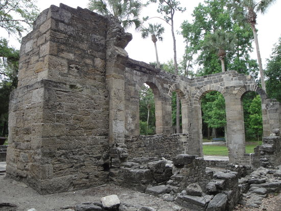 New Smyrna Beach, Φλόριντα: Sugar Mill Ruins