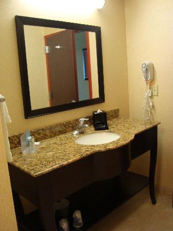 Hampton Inn & Suites Denver Highlands Ranch : Bathroom