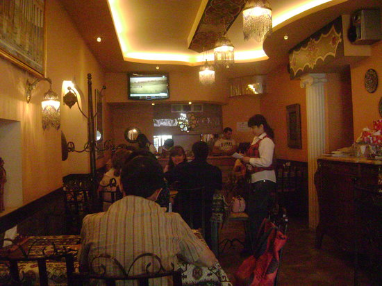 Lagonid Bistro-Cafe: the restaurant