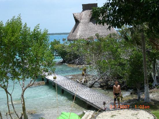 Kuuch Kaanil Villas Eco-romanticas : Huy que tal la vista super no!