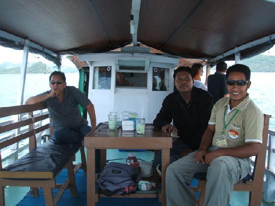 Labuan Bajo, Indonesien: Boat to Rinca Island