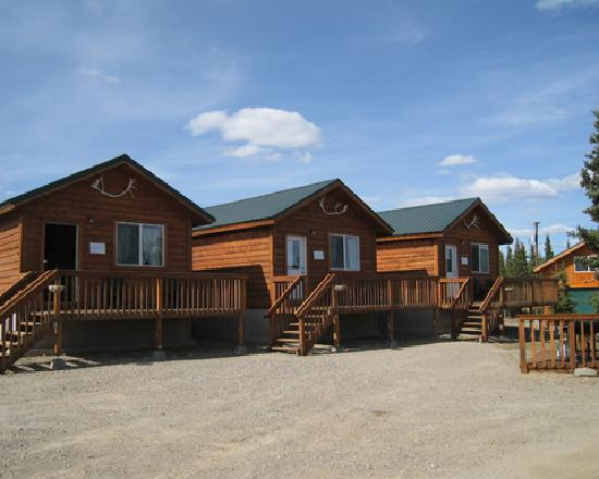 Alaskan Spruce Cabins: There's only 3, so book ahead!