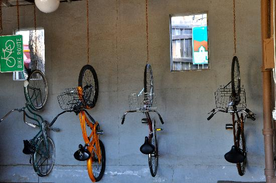 The Motor Lodge: Some of the bikes