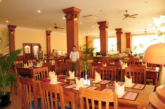 Dara Reang Sey Hotel Siem Reap: Restaurant