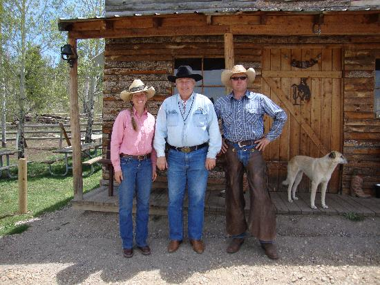 Rusty Spurr Ranch: the owners just great people