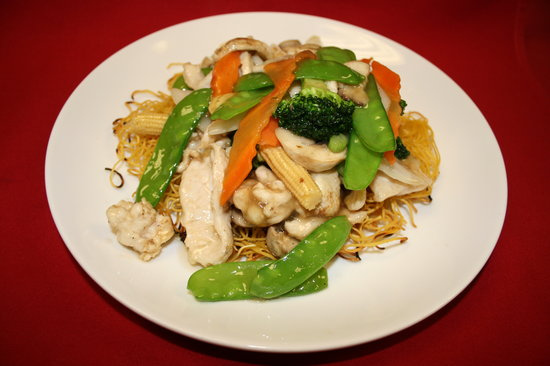 Blue Orchid: Pan Fried Noodle is the best!!!  Just like Chinatown's!!!