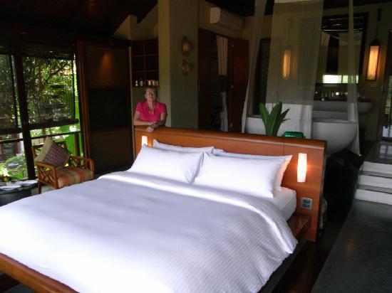 Villa Zolitude Resort and Spa : The bedroom was great