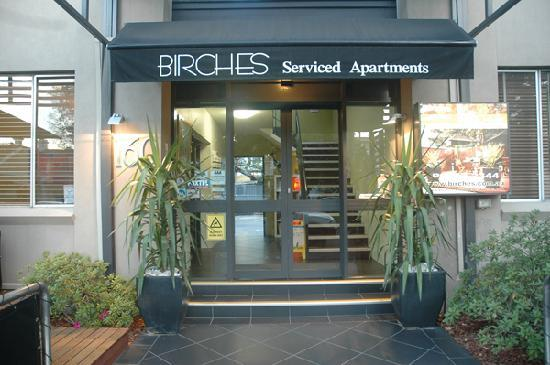 Birches Serviced Apartments: Main Entrance