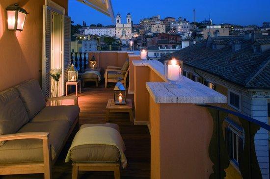 Portrait Roma: Penthouse suite Trinità dei Monti - Terrace