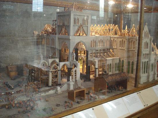 Salisbury, UK: Salisbury 2008 - Cathedral Model