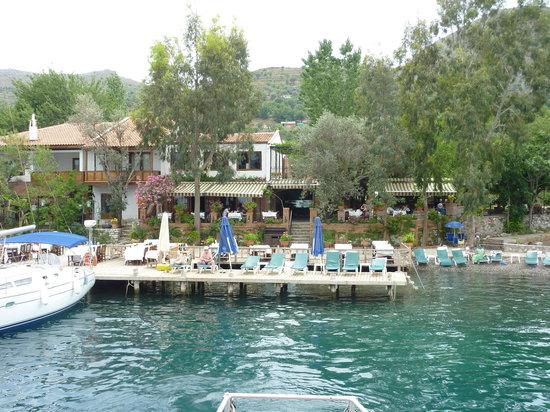Selimiye, Turquía: Sardunya Restaurant Semiliye