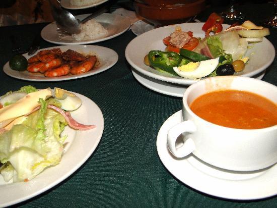 Casa Armas : our food