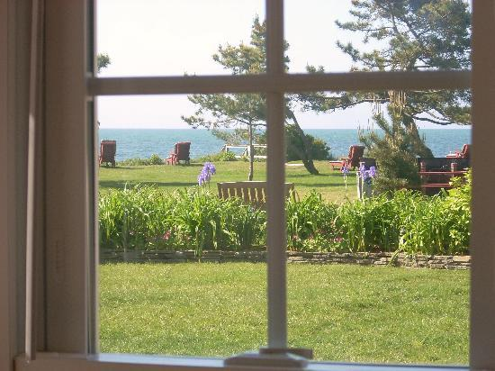Seaside Cottages: The view from our cottage