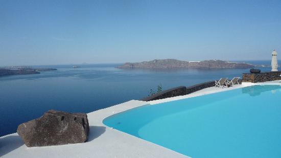 Aenaon Villas: Sea view