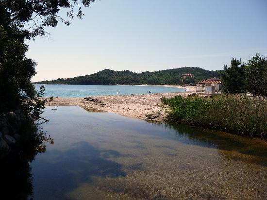 Sari-Solenzara, France: la plage de favone