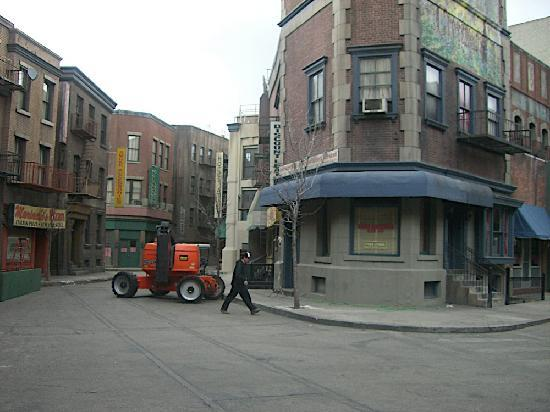Warner Bros. Studio Tour Hollywood: Eine der Straßen