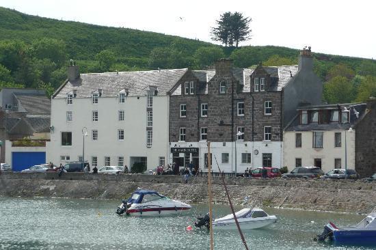 Marine Hotel on the quayside