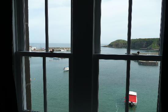 Marine Hotel: View from the window