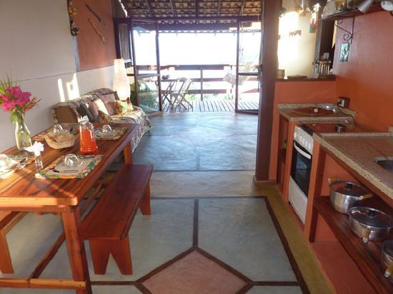 Resort Croce del Sud: Kitchen area